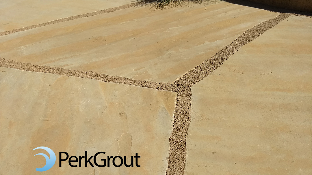 PerkGrout-Tan-upclose