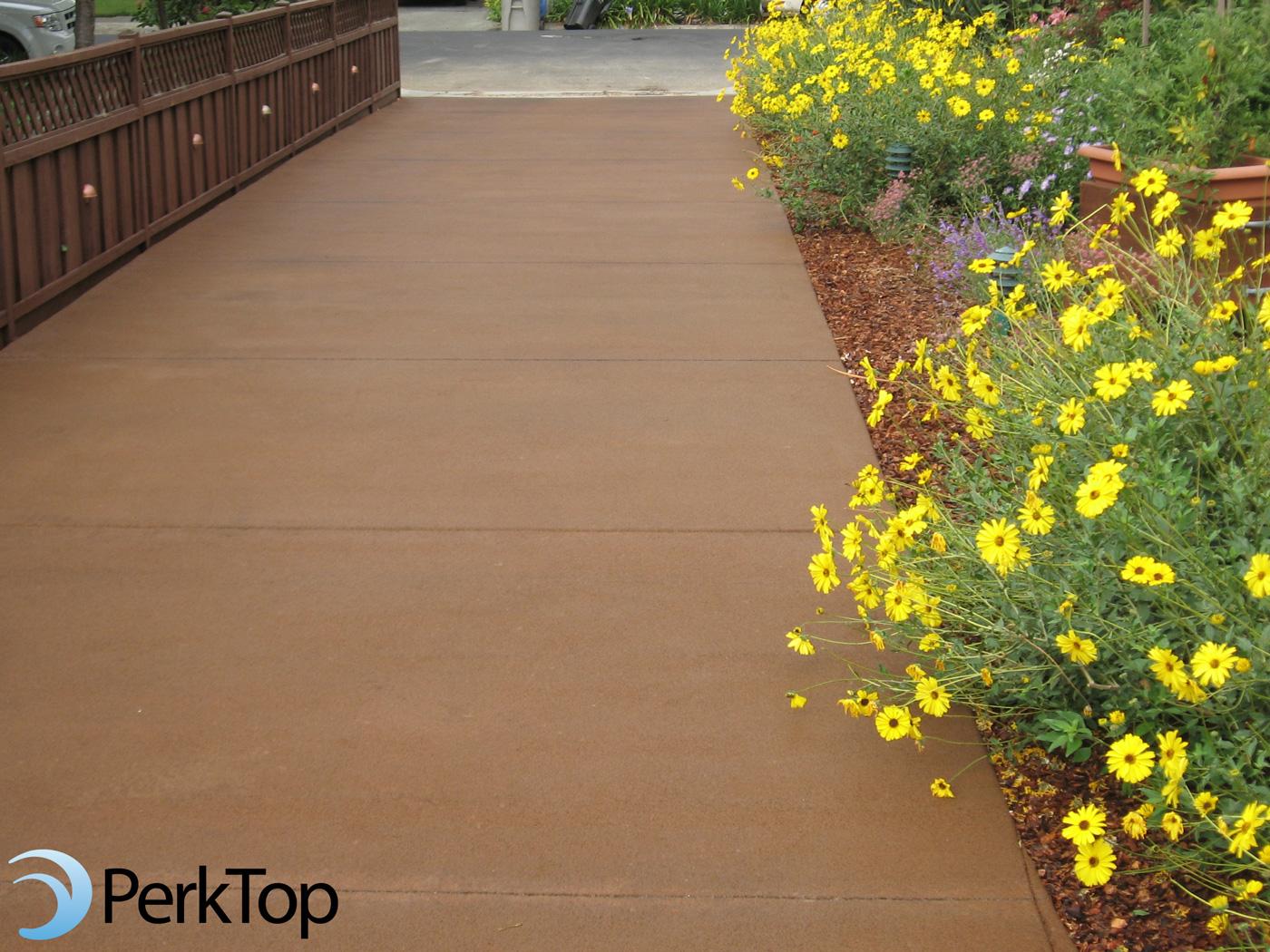 PerkTop-brown-porous-concrete-driveway